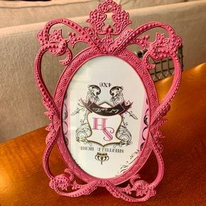 Sheffield Home pink gothic 4x6 picture frame